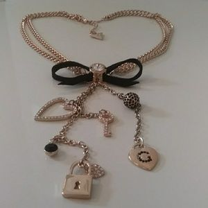 """Guess Jewelry - GUESS NECKLACE 16-18"""" 5"""" DROP"""